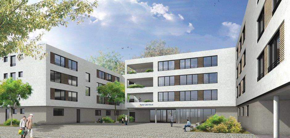 Nach Fertigstellung Des Neuen Papst Leo Hauses In Essen Frintrop Werden  Unsere Bewohner Wieder In Die Unterstraße Ziehen.